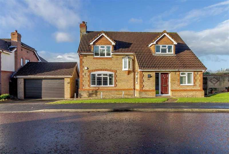 4 Bedrooms Detached House for sale in Treetops, Portskewett, Monmouthshire
