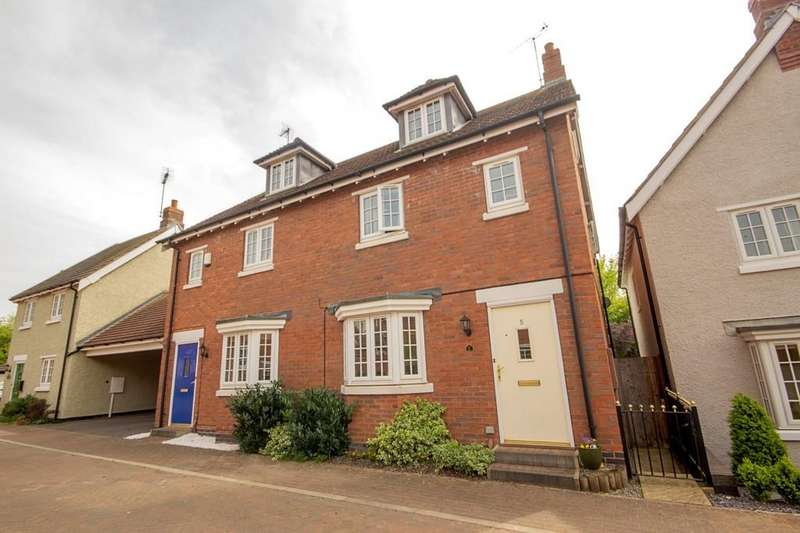 3 Bedrooms Semi Detached House for sale in Furrow Close, Barrow Upon Soar