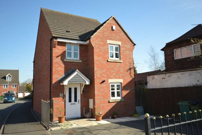 3 Bedrooms Detached House for sale in Old Church Road, Enderby, Leicester, LE19