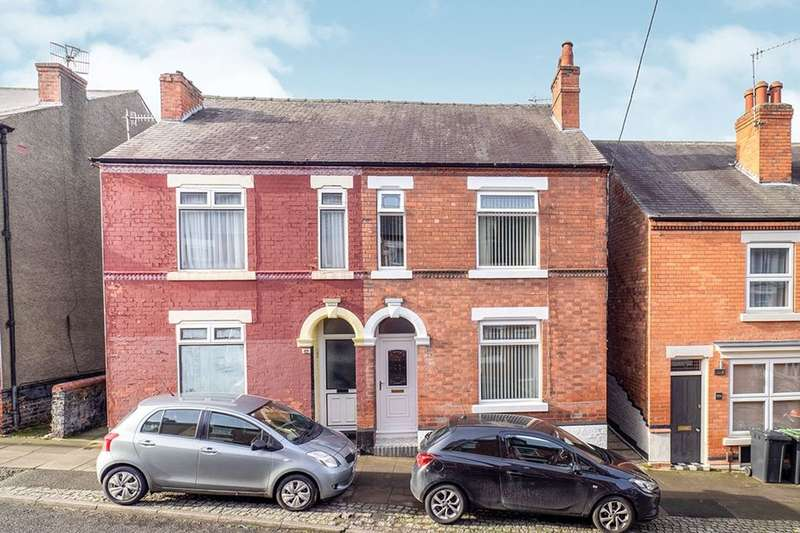 3 Bedrooms Semi Detached House for sale in Lawrence Street, Stapleford, Nottingham, NG9