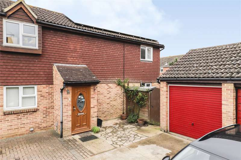 2 Bedrooms Semi Detached House for sale in Saltersgate Close, Lower Earley, Reading, Berkshire, RG6