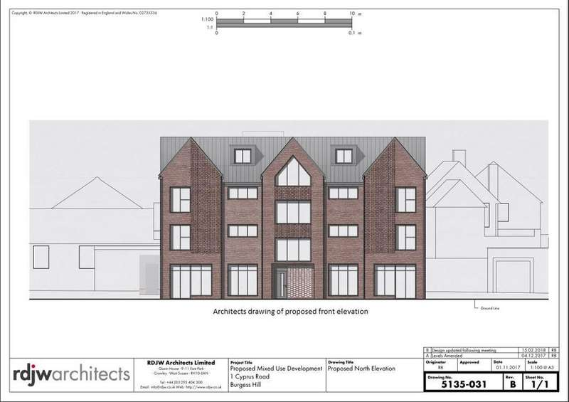 Residential Development Commercial for sale in Cyprus Road, Burgess Hill