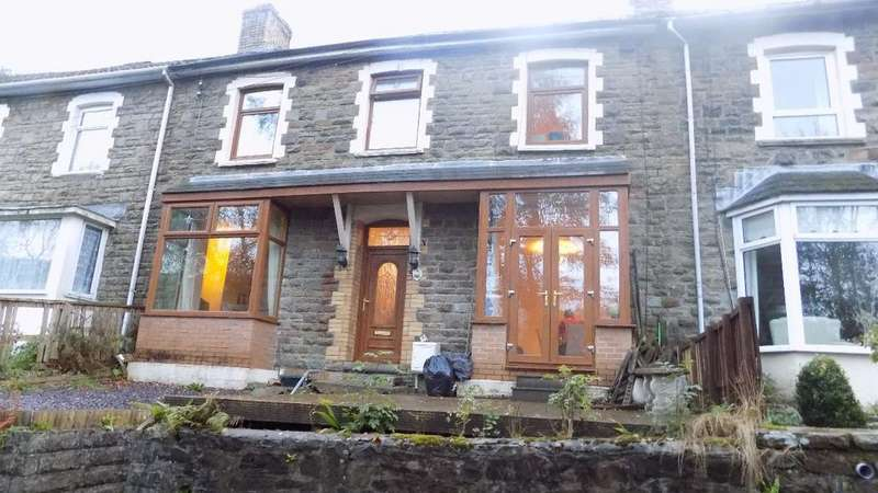 4 Bedrooms Terraced House for sale in Clytha Crescent, Old Blaina Road, Abertillery.