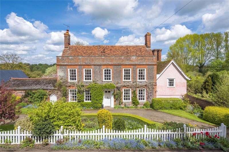 6 Bedrooms Detached House for sale in Swingleton Green, Monks Eleigh, Ipswich, IP7