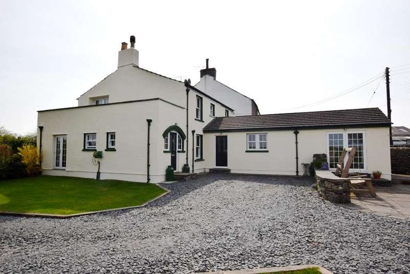 4 Bedrooms Detached House for sale in Greenbank Cottage, Highfield, Nr Urswick