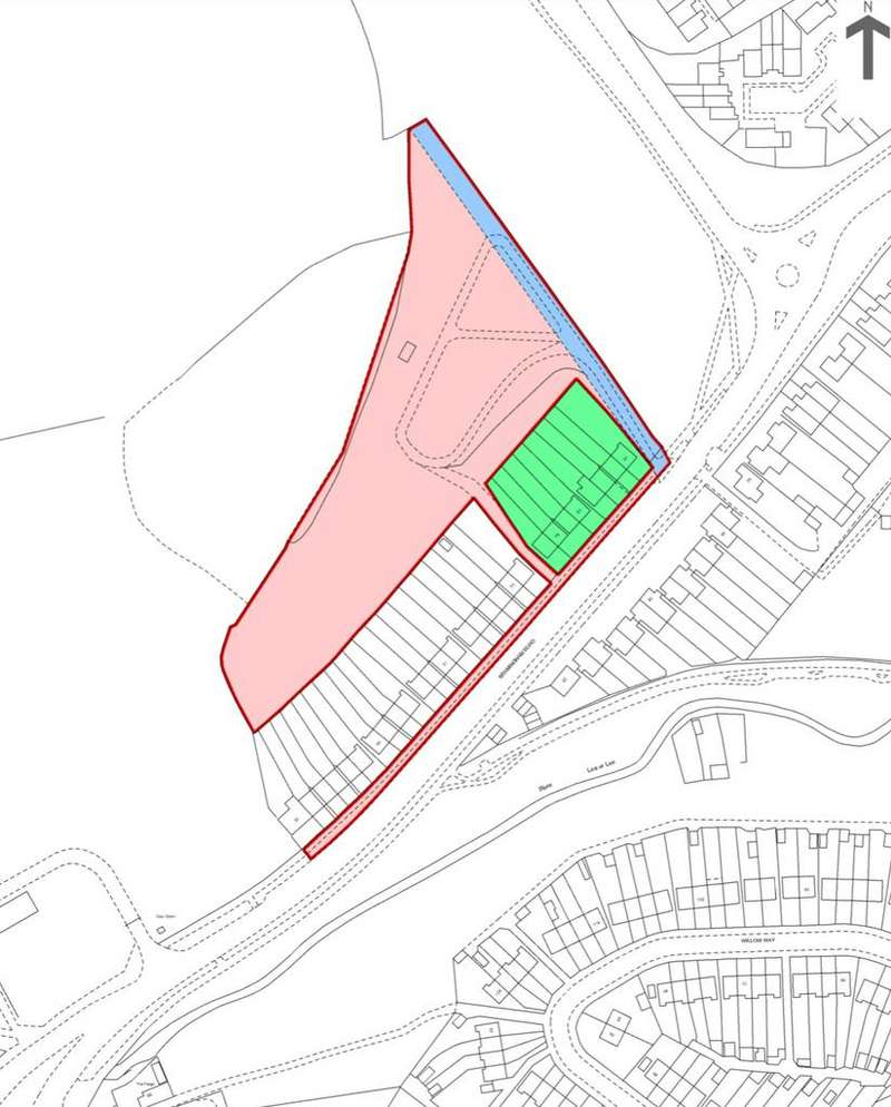 Land Commercial for sale in Bramingham Road, Luton,LU3