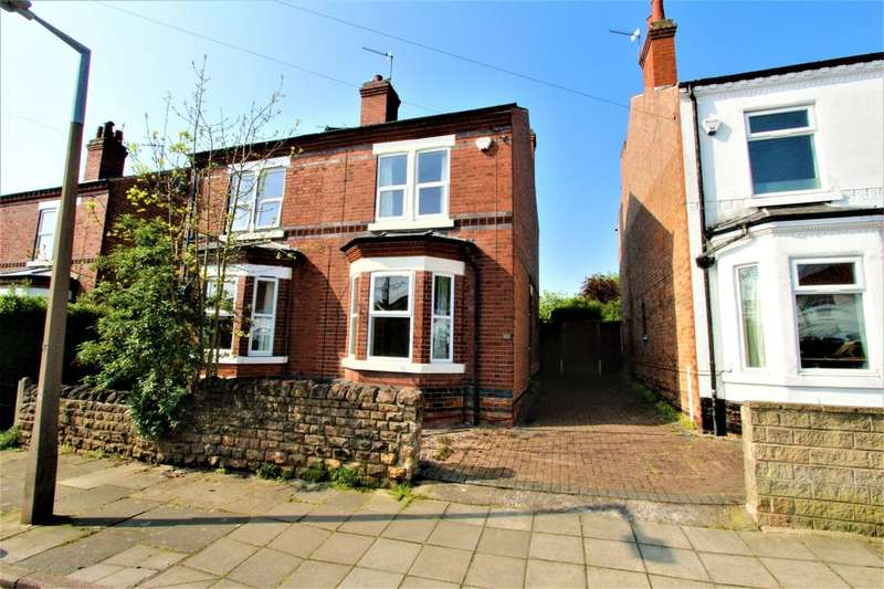 2 Bedrooms Semi Detached House for sale in Hope Street, Beeston, Nottingham, NG9