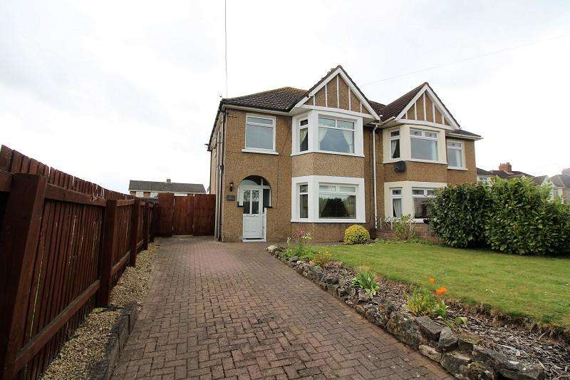 3 Bedrooms Semi Detached House for sale in Newport Road, Caldicot
