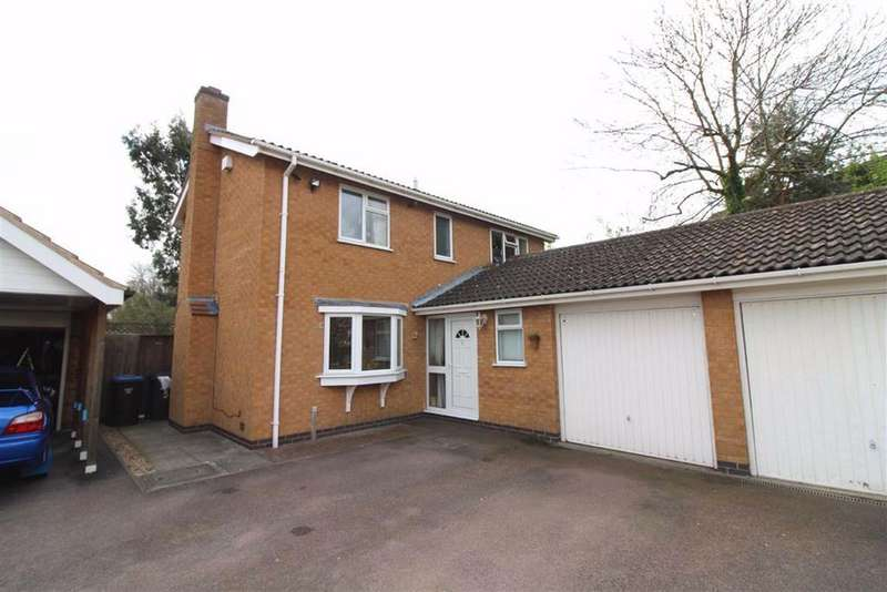 4 Bedrooms Detached House for sale in Stirling Drive, Thurnby