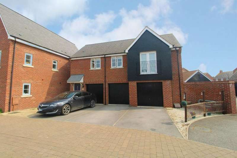 2 Bedrooms Detached House for sale in Greenside Close, Wixams, Bedfordshire, MK42