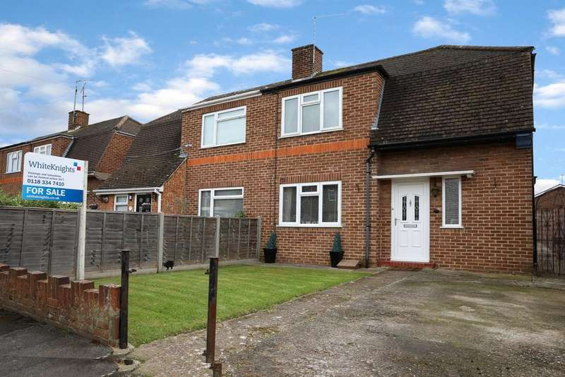 2 Bedrooms Semi Detached House for sale in Greenfields Road, Reading