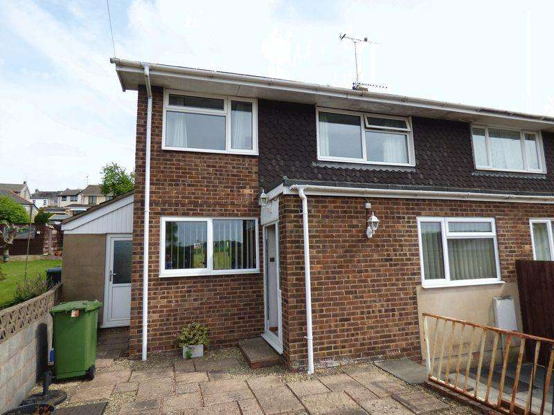 4 Bedrooms Semi Detached House for sale in Somerset Road, Cinderford