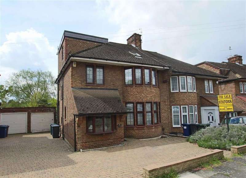 4 Bedrooms Semi Detached House for sale in Michleham Down, Woodside Park, London