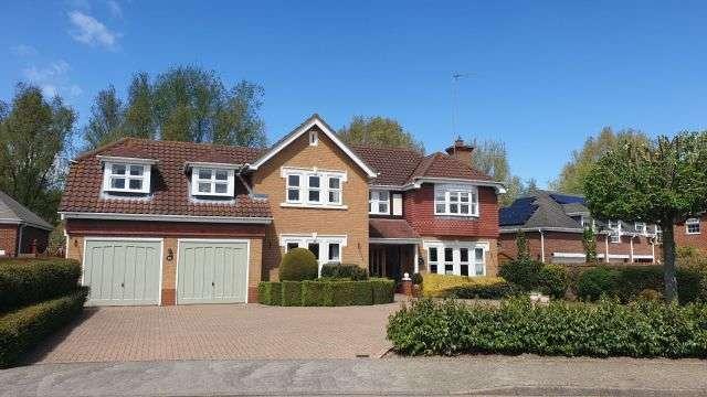 5 Bedrooms Detached House for sale in Belfry Lane, Collingtree Park, Northampton NN4 0PB
