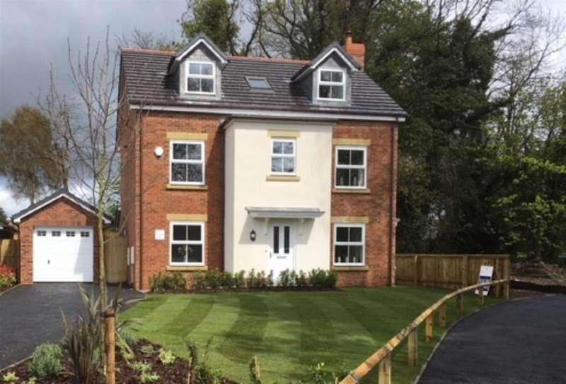 5 Bedrooms Detached House for sale in Maes Helyg, Vicarage Road, Llangollen