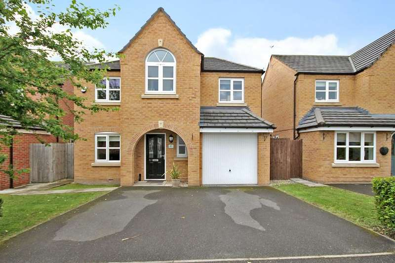 4 Bedrooms Detached House for sale in Powder Mill Road, Warrington, WA4