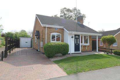 2 Bedrooms Bungalow for sale in Pulford Drive, Scraptoft, Leicester, Leicestershire