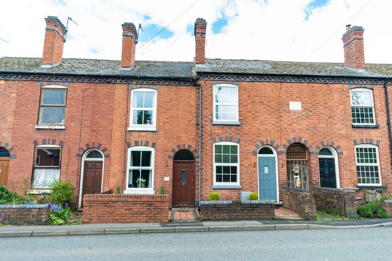 2 Bedrooms Terraced House for sale in Habberley Road, Bewdley