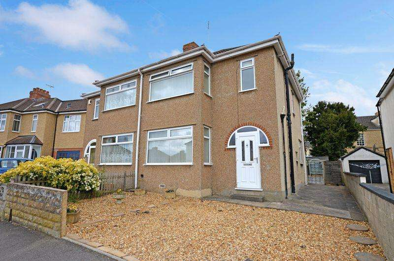 3 Bedrooms Semi Detached House for sale in Manor Road, Bishopsworth, Bristol