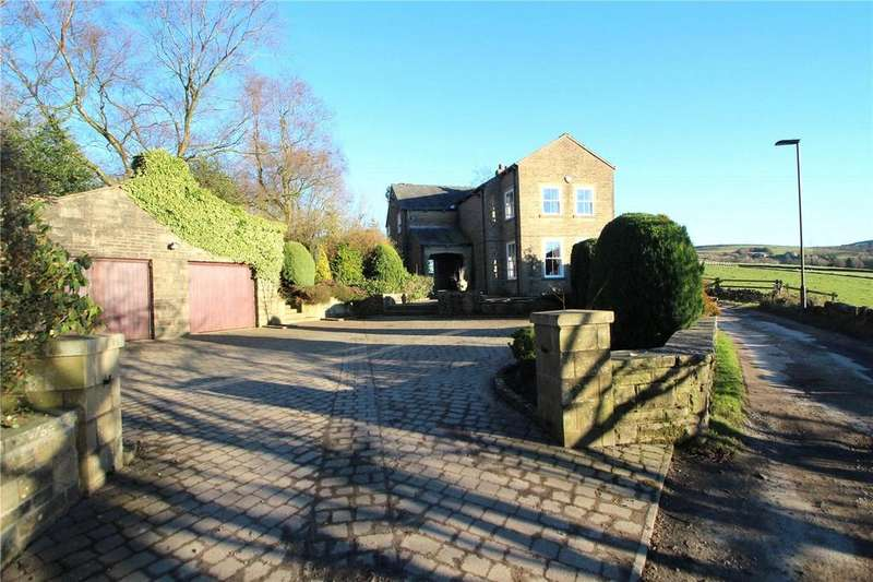 4 Bedrooms Detached House for sale in Hollingworth Fold House, Syke Road, Littleborough, Greater Manchester, OL15