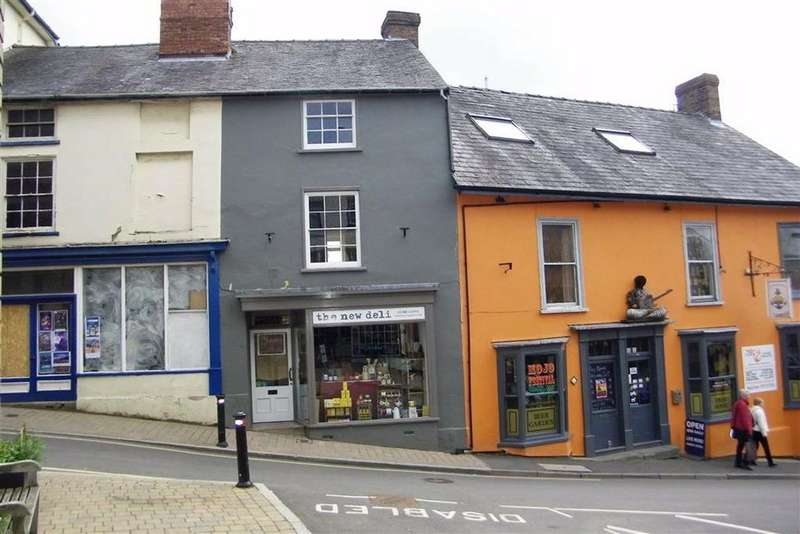 1 Bedroom Town House for sale in High Street, Bishops Castle, Shropshire, SY9