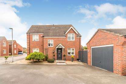 4 Bedrooms Detached House for sale in Shorts Avenue, Shortstown, Bedford, Bedfordshire