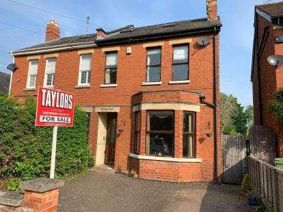 4 Bedrooms Semi Detached House for sale in Sandford Mill Road, Cheltenham, Gloucestershire