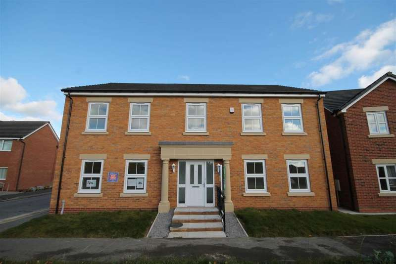 5 Bedrooms Detached House for sale in Surtees Drive, Willington, Crook