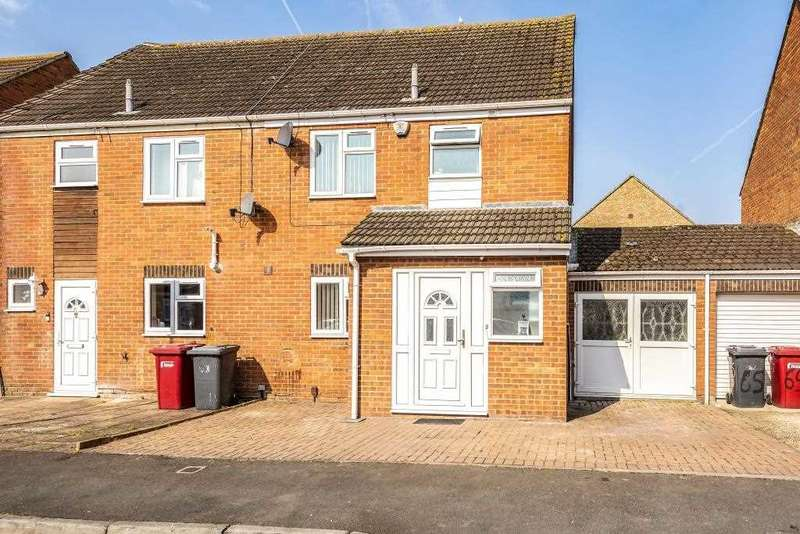 4 Bedrooms Semi Detached House for sale in Rochfords Gardens, Slough