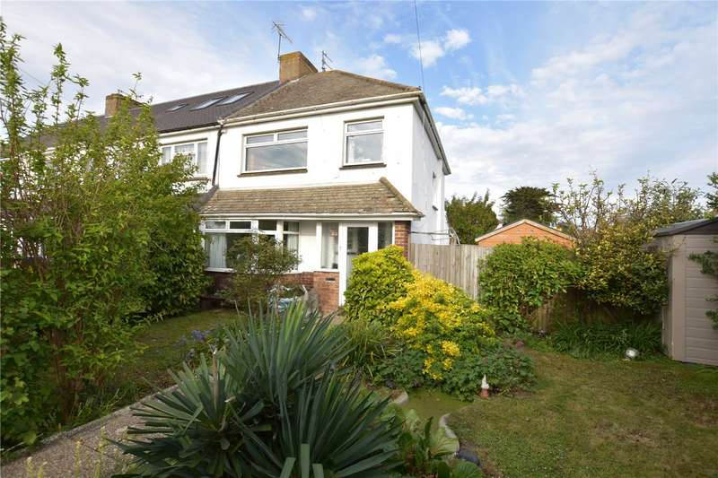 3 Bedrooms End Of Terrace House for sale in Eastern Avenue, Shoreham-by-Sea, West Sussex, BN43