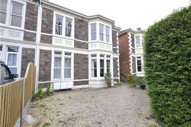 1 Bedroom Maisonette Flat for sale in Front Maisonette, Cranbrook Road, Redland, Bristol, BS6 7BP