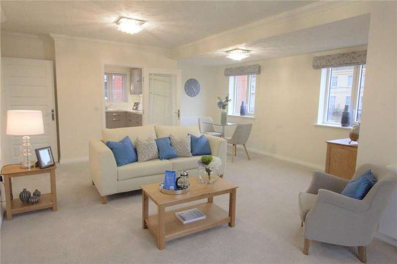 2 Bedrooms Retirement Property for sale in Lewis Carroll Lodge, St. Margaret's Road, Cheltenham, Gloucsester, GL50