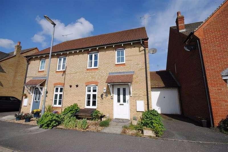 3 Bedrooms Semi Detached House for sale in Trent Way, Leighton Buzzard