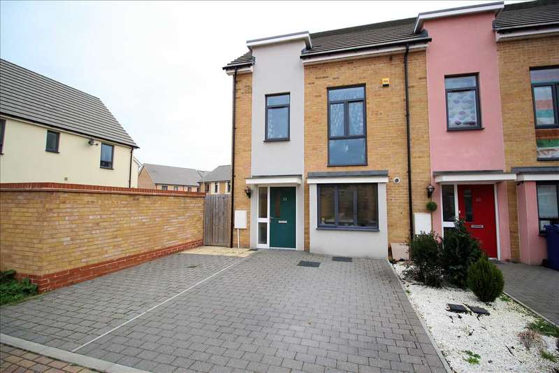 3 Bedrooms End Of Terrace House for sale in Courts Way, South Ockendon