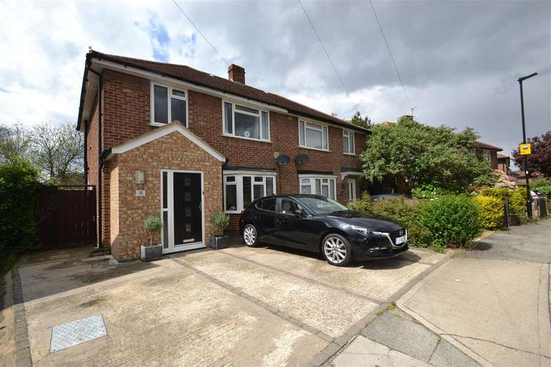 3 Bedrooms Semi Detached House for sale in Sherborne Road, Feltham