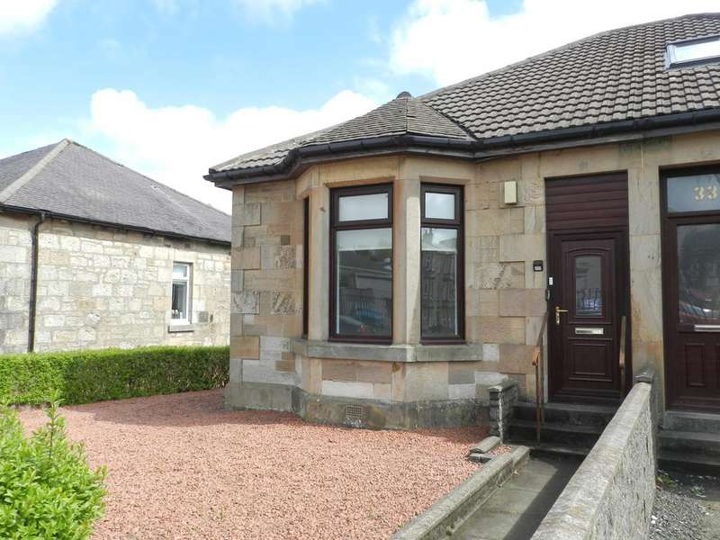 1 Bedroom Semi Detached Bungalow for sale in Holmhead, Kilbirnie KA25
