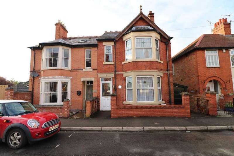 4 Bedrooms Semi Detached House for sale in CRAVEN STREET, MELTON MOWBRAY