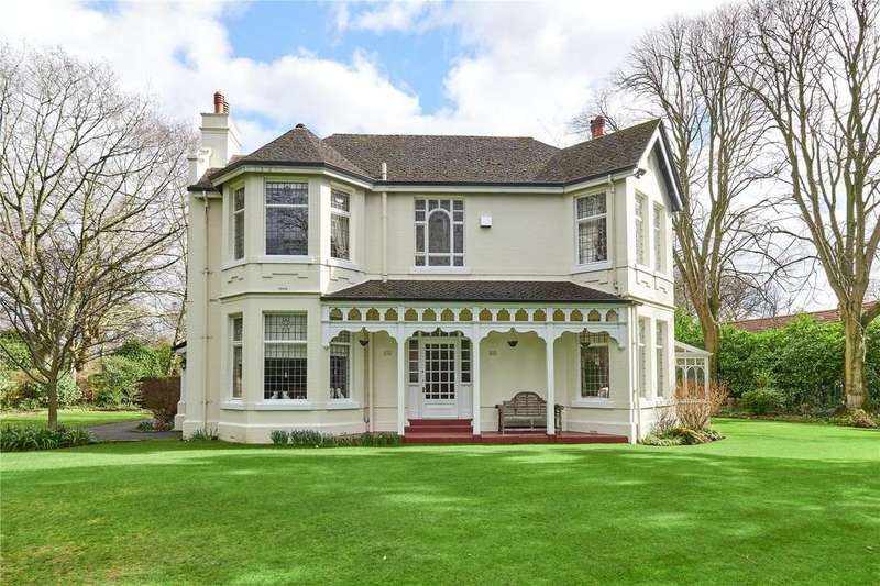 5 Bedrooms Detached House for sale in Harrop Road, Hale, Cheshire, WA15