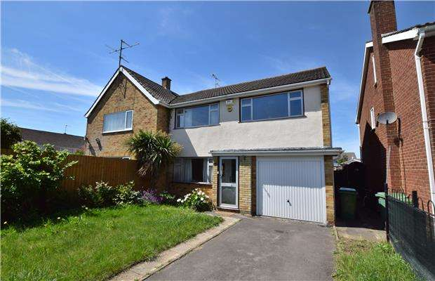 3 Bedrooms Semi Detached House for sale in Netherwood Gardens, CHELTENHAM, Gloucestershire, GL51 8LQ