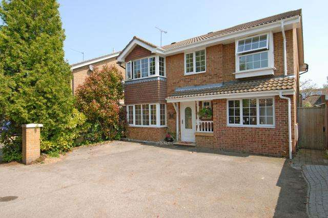 4 Bedrooms Detached House for sale in Ramsbury Close, Bracknell, Berkshire, RG12
