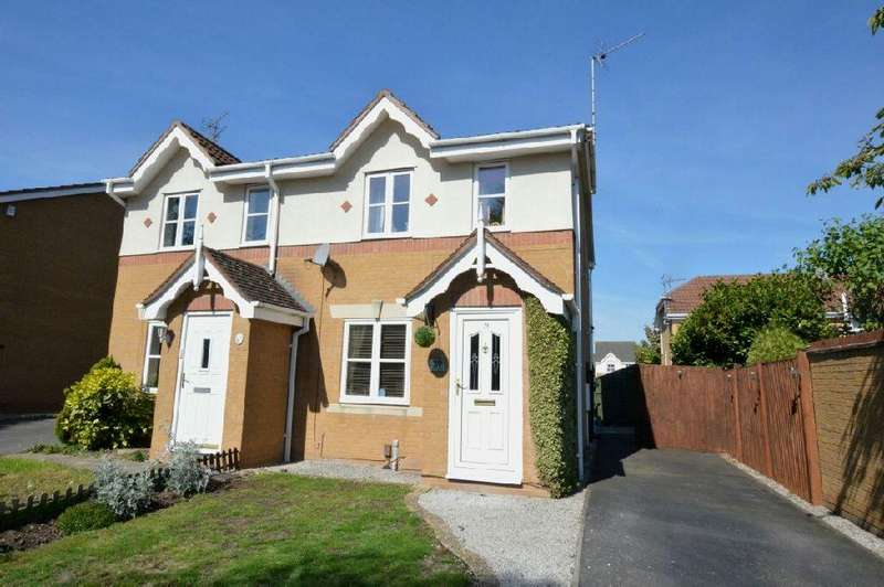 2 Bedrooms Semi Detached House for sale in Haskell Close, Thorpe Astley, Leicester
