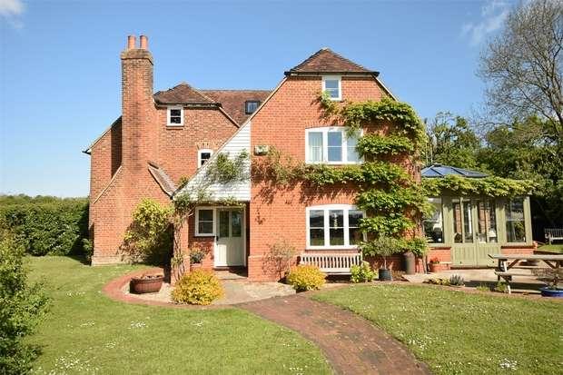 4 Bedrooms Semi Detached House for sale in School Lane, Shipbourne, Tonbridge, Kent