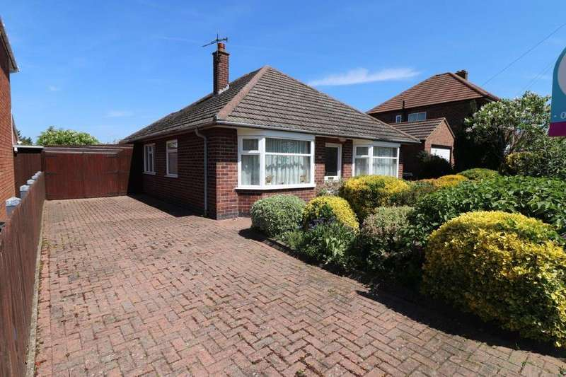 2 Bedrooms Detached Bungalow for sale in Oxford Drive, Melton Mowbray