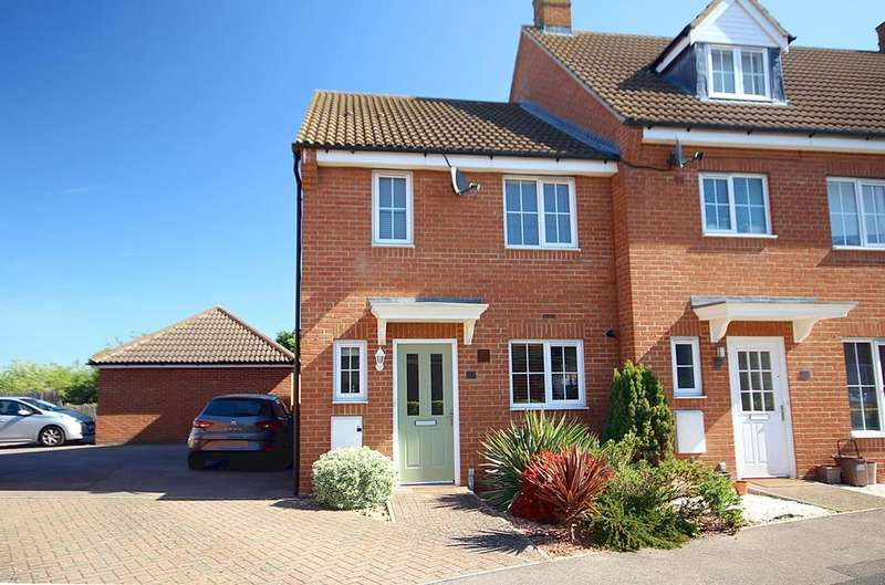 3 Bedrooms End Of Terrace House for sale in St Johns Road, Arlesey, SG15