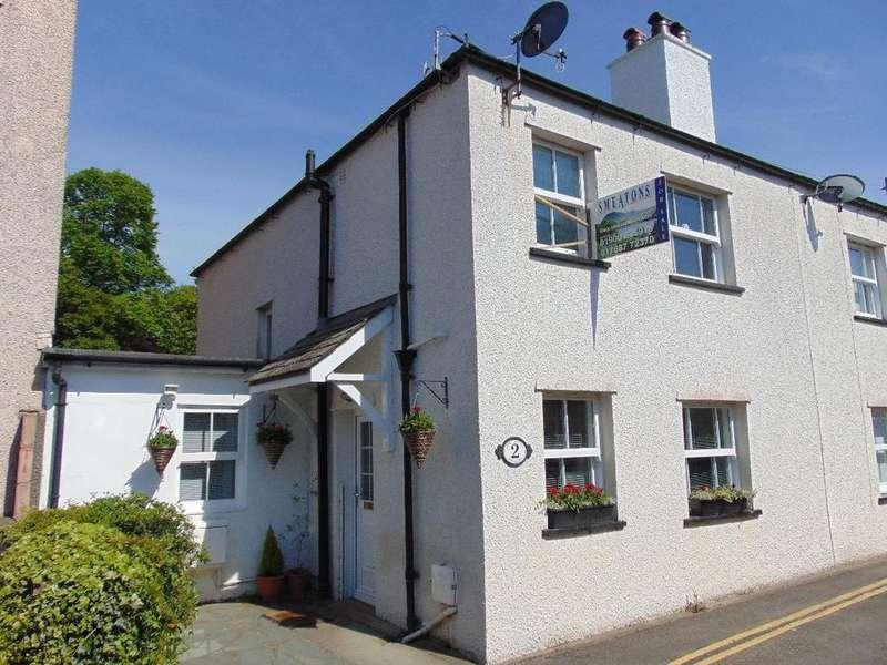 2 Bedrooms Semi Detached House for sale in Greta Side Keswick CA12 5LG