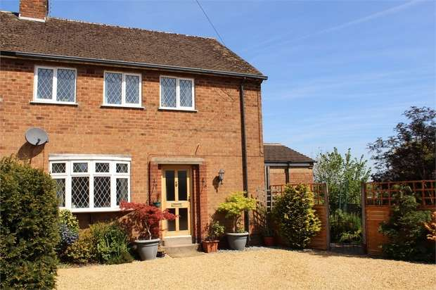 3 Bedrooms Semi Detached House for sale in Claybrooke Magna
