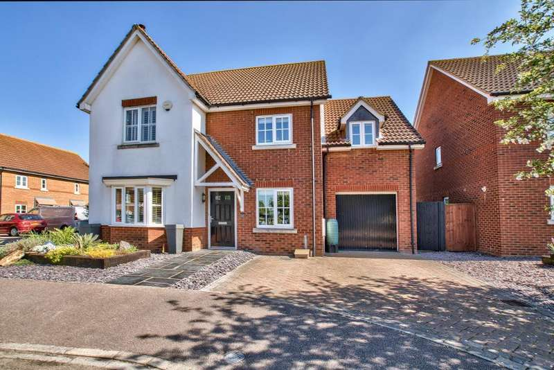 5 Bedrooms Detached House for sale in Trow Close, Cotton End, Bedford, MK45 3BF