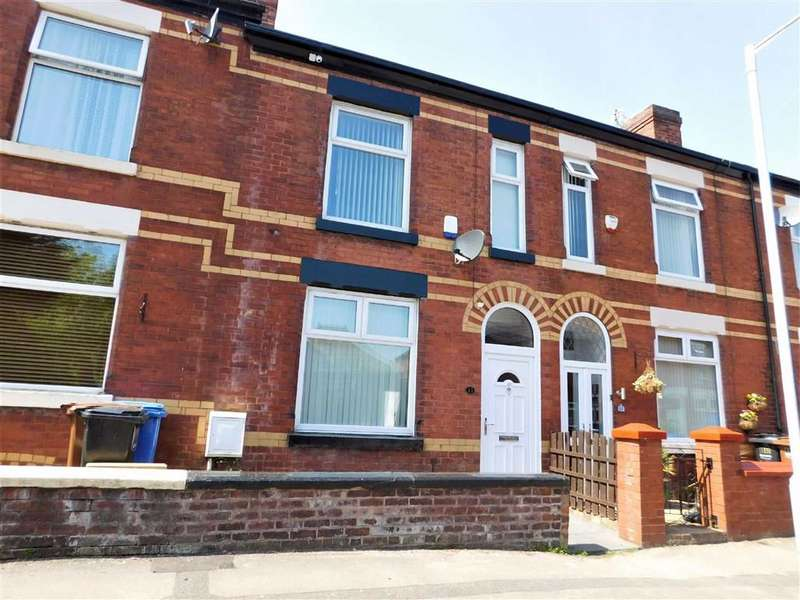 4 Bedrooms Terraced House for sale in Cunliffe Street, Edgeley, Stockport
