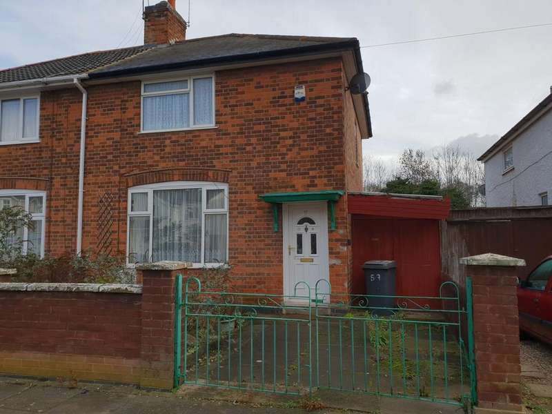 2 Bedrooms Semi Detached House for sale in Roseneath Avenue Leicester