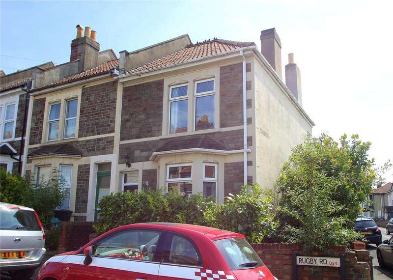 2 Bedrooms End Of Terrace House for sale in Rugby Road, Sandy Park, Brislington, BS4